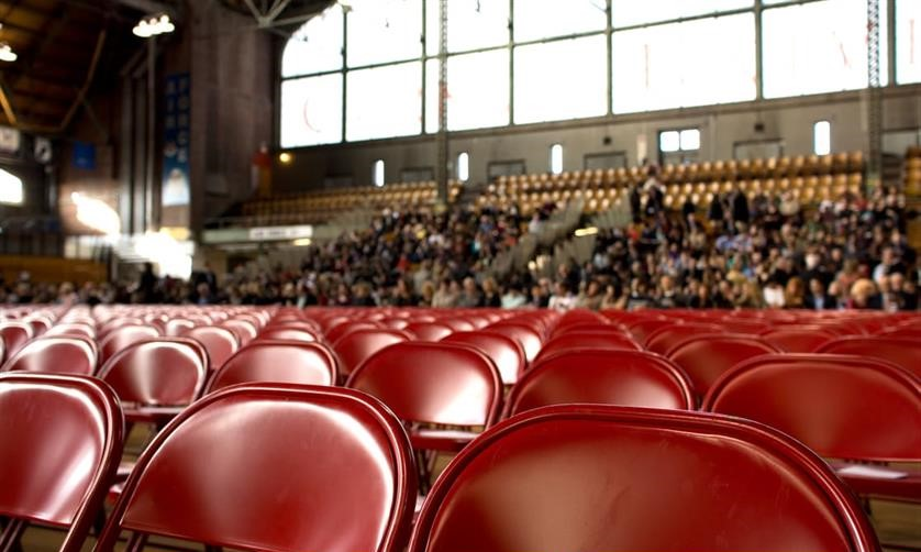 chairs for audience