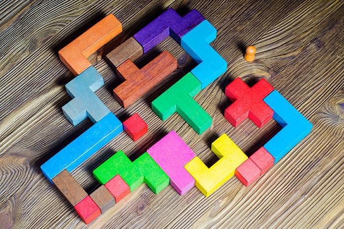 puzzle symbolizing restructure