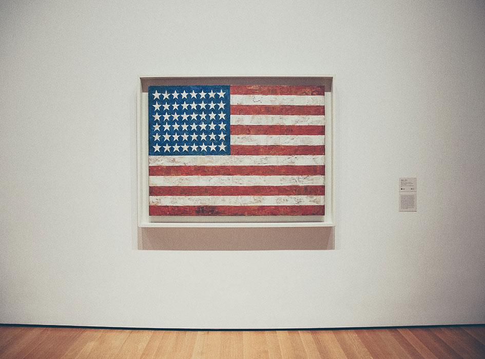 American Flag exhibit