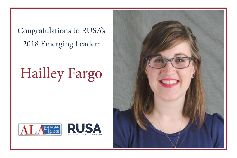 2018 Emerging Leader Hailley Fargo