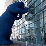Denver blue bear