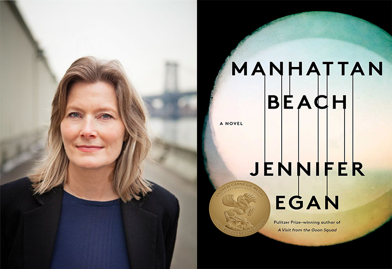 Jennifer Egan author of Manhattan Beach