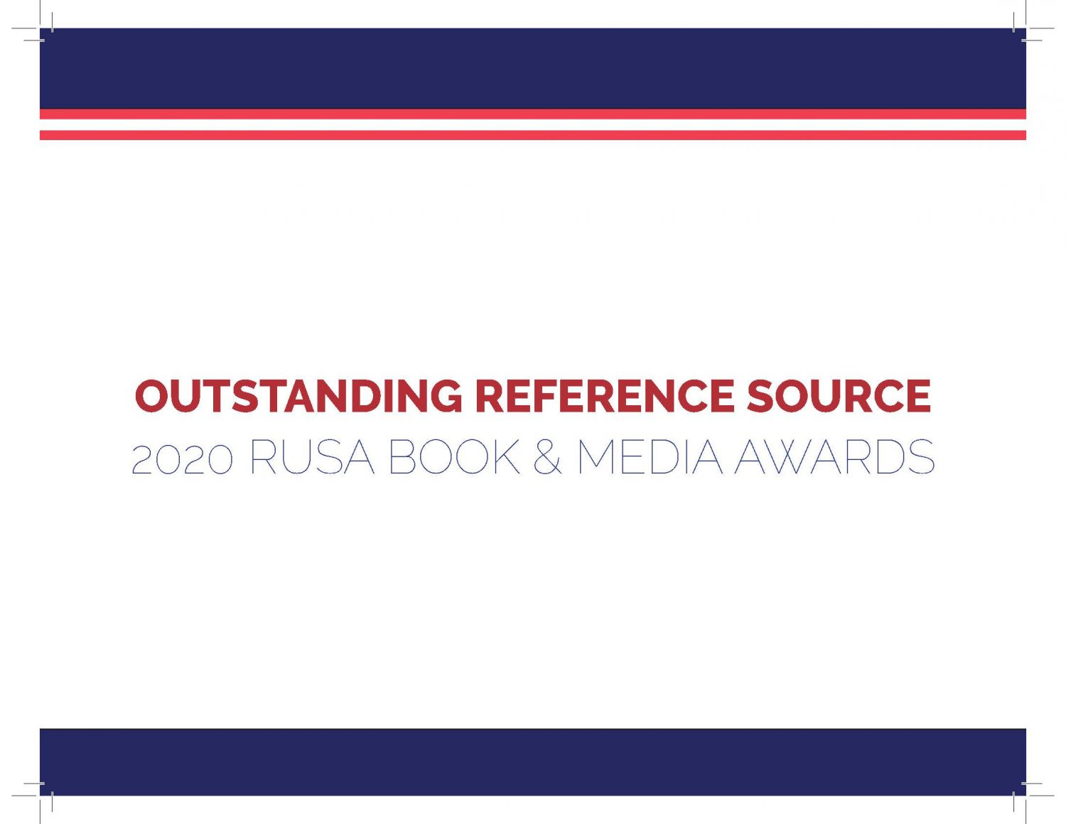 Reference experts announce annual Outstanding Reference Sources list for adults