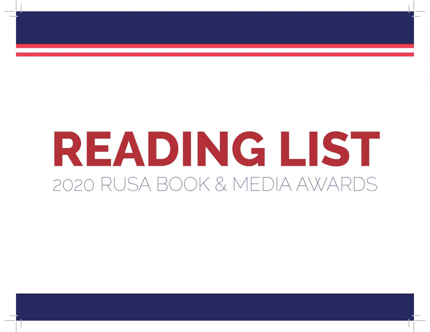 2020 Reading List: Year's best in genre fiction for adult Readers